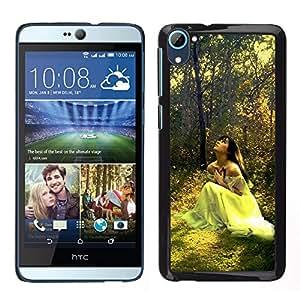 "For HTC Desire D826 , S-type Diseño Forrest Novia"" - Arte & diseño plástico duro Fundas Cover Cubre Hard Case Cover"