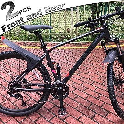 rosso MARSH GUARD bicicletta parafango universale mtb nero