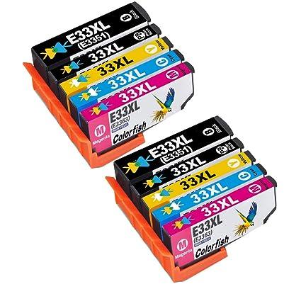 AA + tintas compatibles T3357 cartuchos de tinta para ...