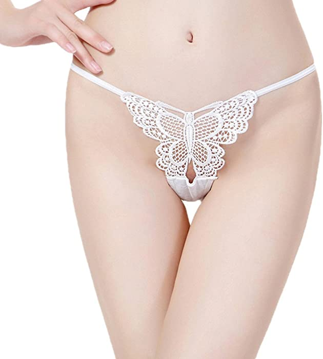 8c7817569ce ILUCI Sexy Lingerie for Women for Sex Women s Lace Bow Nightwear T-Back  Thongs G