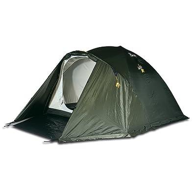 BERTONI Alp 3 Tente de camping, d'alpinisme et de randonnée, vert forêt, Taille unique