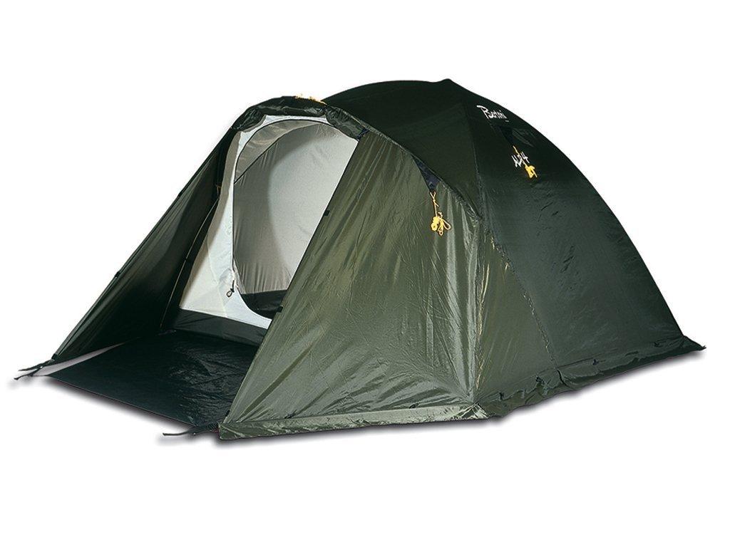0 Bertoni Alp 4 Campingzelt für Bergtouren und Wanderungen, Farbe: waldgrün, Einheitsgröße