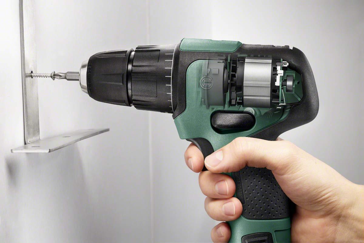 12 V Bosch Home and Garden 06039B6101 Bosch Schlagbohrschrauber EasyImpact 12 2 Batterien, 12 Volt System, in Tasche