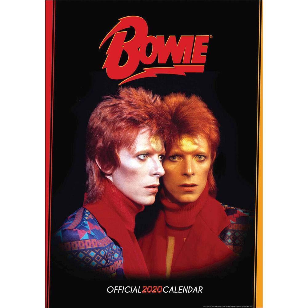 David Bowie 2020 Calendar   Official A3 Wall Format Calendar