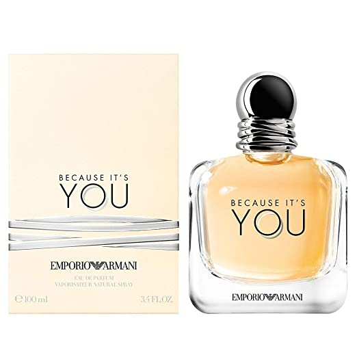 2b1a5c163ca86 Amazon.com   Emporio Armani Because It s You Eau De Parfum 3.4 Ounce   100  ml   Beauty