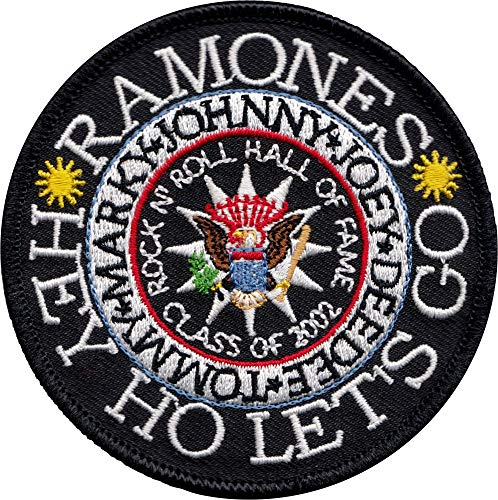 The Ramones - Rock 'N Roll Hall of Fame Presidential Seal - Embroidered Iron on Patch
