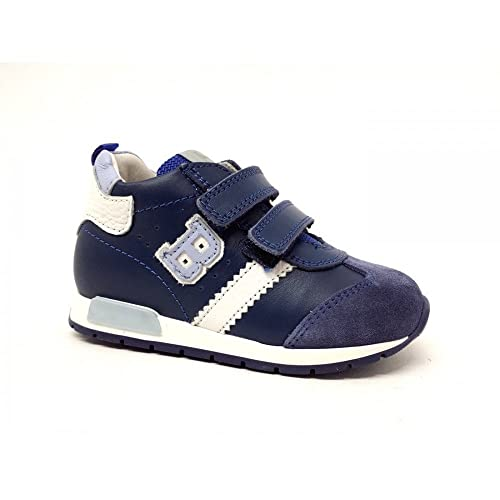 BALDUCCI Scarpe Baby Sneakers Pelle Blu CITA1026-JEANS  Amazon.it ... be2b0d9a322
