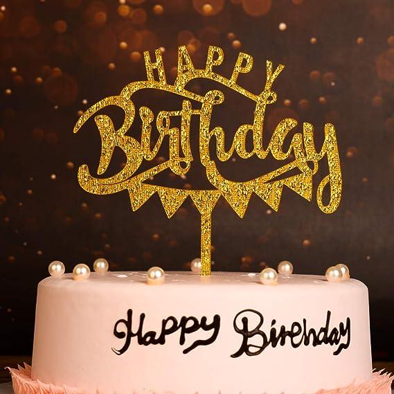 Fabulous New Design Happy Birthday Cake Topper Adult Kid Birthday Cake Funny Birthday Cards Online Overcheapnameinfo