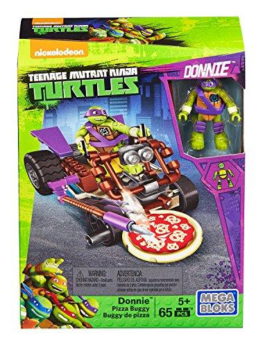 Ninja Turtle Donatello (Mega Bloks Teenage Mutant Ninja Turtles Ninja Racers, Donatello Pizza Kart Slasher)