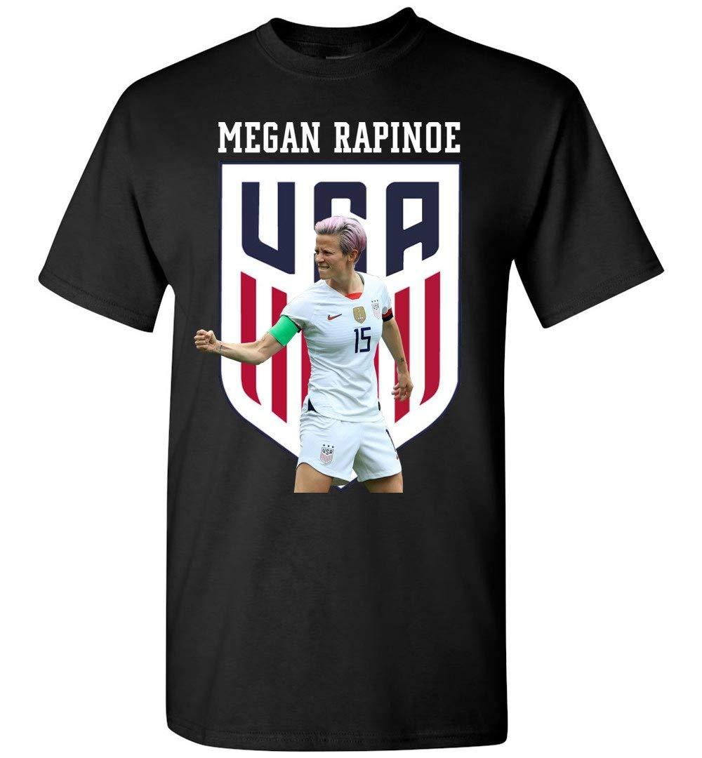 Soccer Usa Team Meganrapinoetshirt