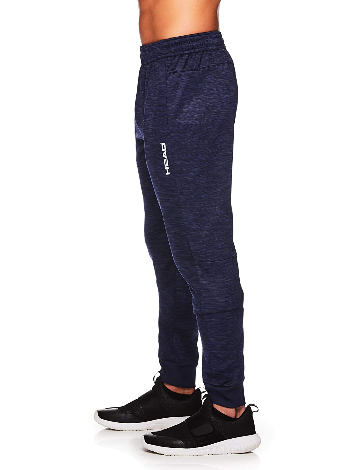 Performance Workout /& Jogging Activewear Sweatpants HEAD Mens Jogger Running Pants