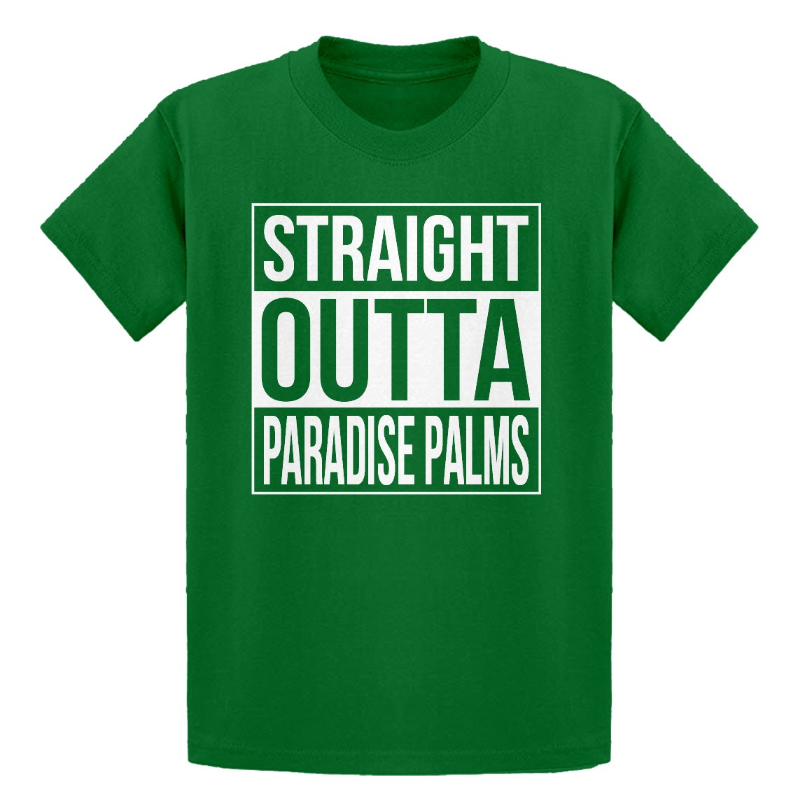 Indica Plateau Youth Straight Outta Paradise Palms Kids T-Shirt 3691-Y