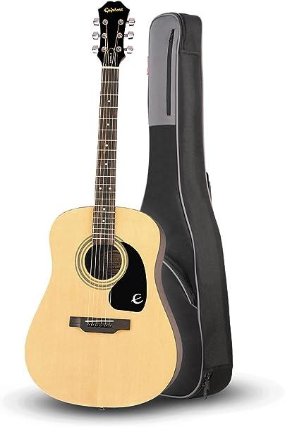 Epiphone DR-100 – Guitarra acústica Natural con Road Runner rr1ag ...