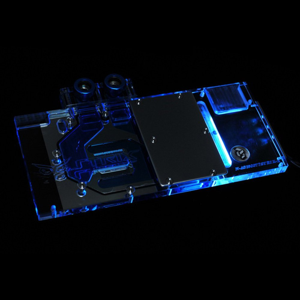 Amazon.com: Bykski RGB LED VGA GPU Water Cooling Block Asus GTX1080TI 1080 1070 1060 Strix: Computers & Accessories