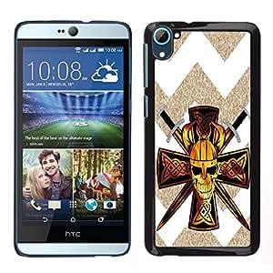 Dragon Case - FOR HTC Desire D826 - Give every opportunity a chance - Caja protectora de pl??stico duro de la cubierta Dise?¡Ào Slim Fit