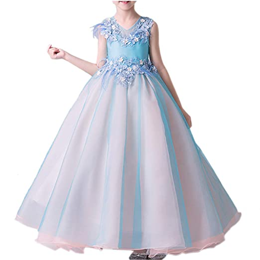Vestido Fiesta Niña Vestido de Princesa para Fiestas Boda ...