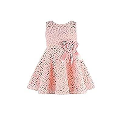 84a969a78c6bf Famille 1 PC Filles Dentelle Impression Floral Robe