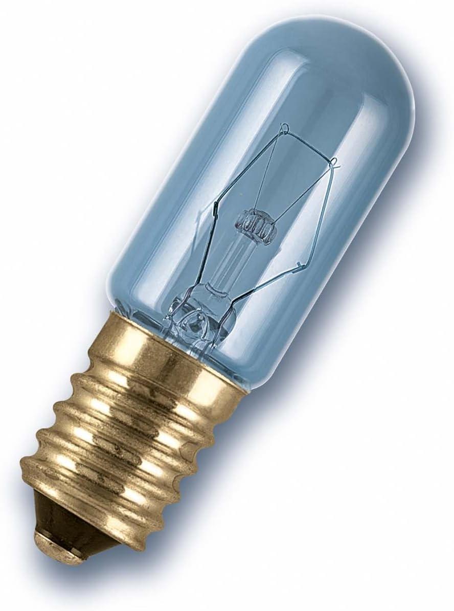 E14 OSRAM Frigor/ífico Bombilla Incandescente Trasparente 1 Unidad 15 watts