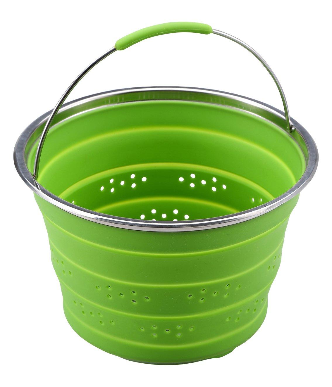 Chef Sauce - Pasta inserts silicone green 24x16 cm CS-4501 CS-4501_-