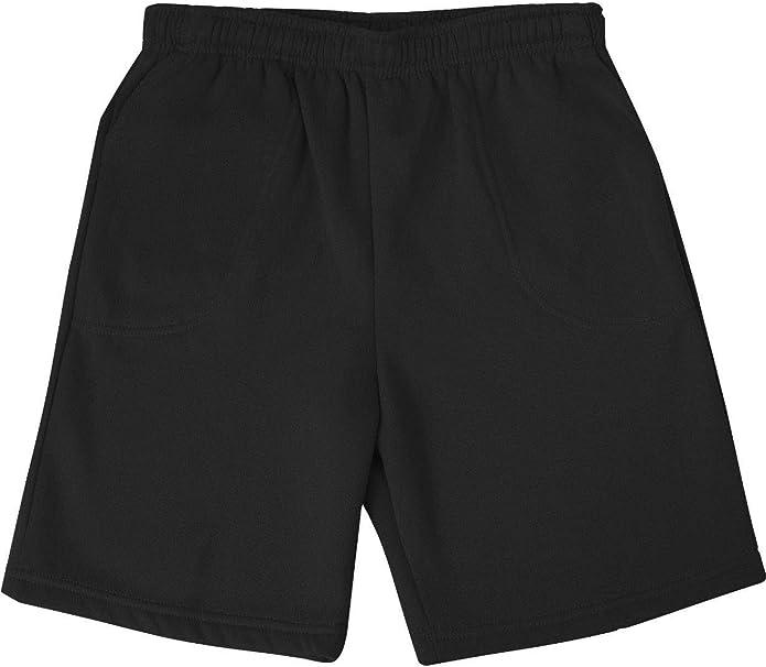 8X Big, Black Extra Big Beefy Cotton Jersey Elastic Shorts Big and Tall