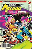 JUSTICE MACHINE #1, VF+, Elementals, Comico, 1986