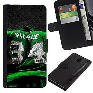 Stuss Case / Funda Carcasa PU de Cuero - Pierce 34 - Samsung Galaxy Note 3 III