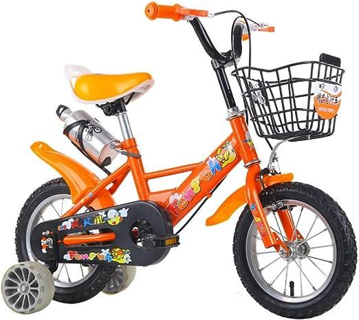SONG Bicicleta para niños Bici del Bebé 2-3-5-6-7 Años De Edad ...