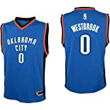 Outerstuff Youth Russell Westbrook Oklahoma City Thunder #0 Road Jersey Blue