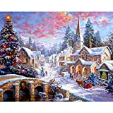 #9: Christmas Package, Diamond Painting Kits for Adults Full Drill Square Clearance,DIY 3D Feel 5D Diamond Painting Crystal Rhinestone Diamond Embroidery Arts Craft 11.8x15.7 inch(30x40cm)
