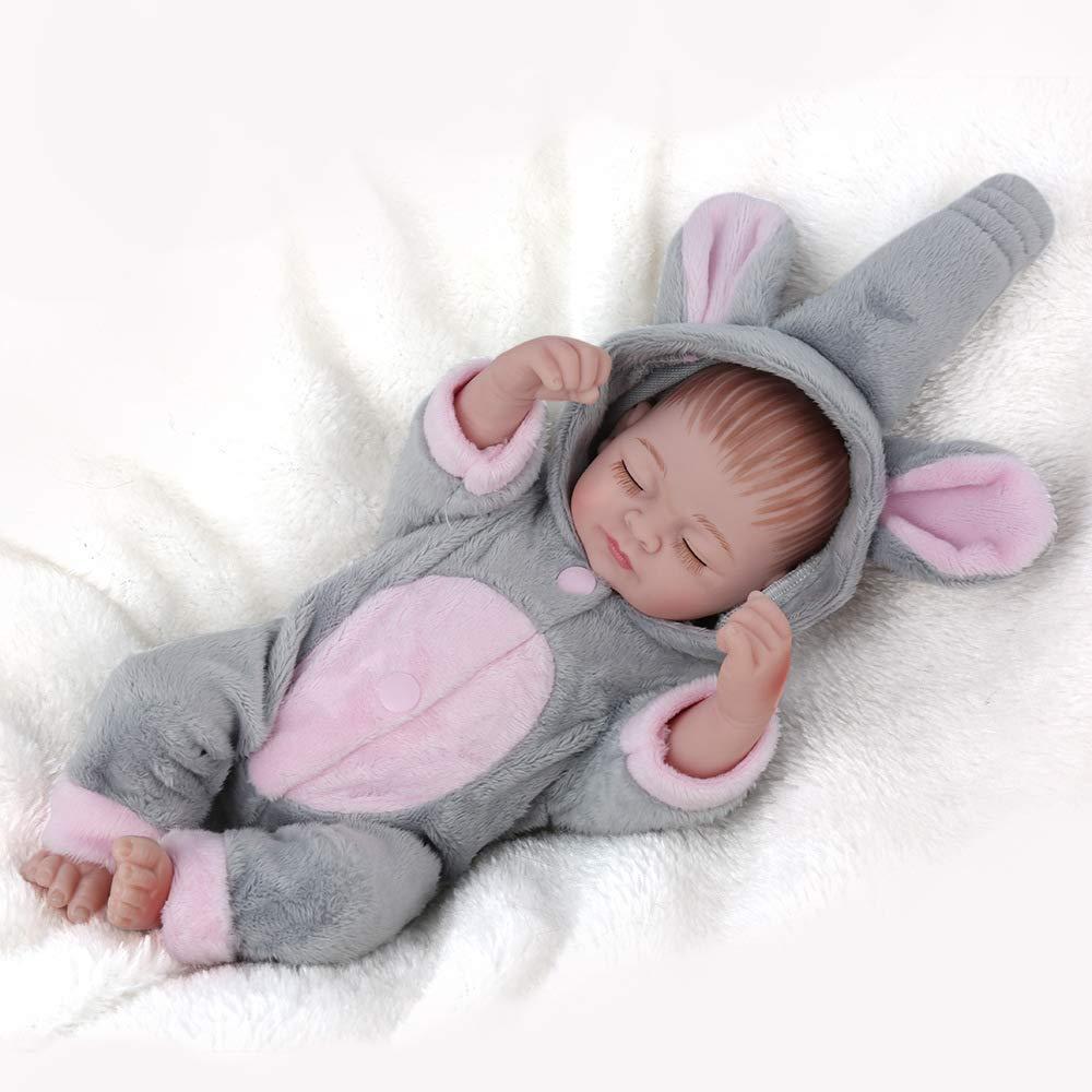 TBY Simulación de bebé renacido, muñeca Suave y Linda Que ...