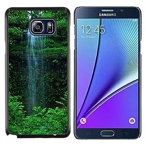 """For Samsung Galaxy Note5 / N920 , S-type Cascada Verde"""" - Arte & diseño plástico duro Fundas Cover Cubre Hard Case Cover"""