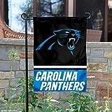 Carolina Panthers Double Sided Garden Flag