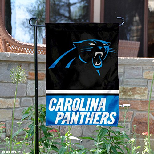 WinCraft Carolina Panthers Double Sided Garden Flag by WinCraft