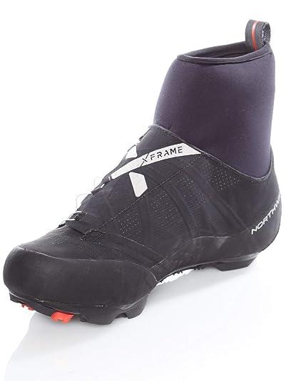 Zapatillas MTB Invierno bicicleta - Northwave Extreme Xcm GTX - calientes zapatos de invierno MTB con membrana Goretex - Cortavientos Ed impermeables, ...