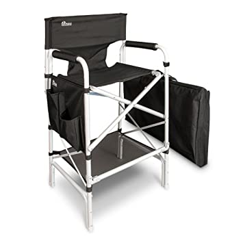 Amazon.com : Earth Heavy Duty VIP Tall Aluminum Directoru0027s Chair : Camping  Chairs : Sports U0026 Outdoors