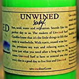 Unwined's Surf Wax Scented Brew League Recycled Beer Bottle Candle - 8 oz Soy Wax (Unwined Surf Collection)