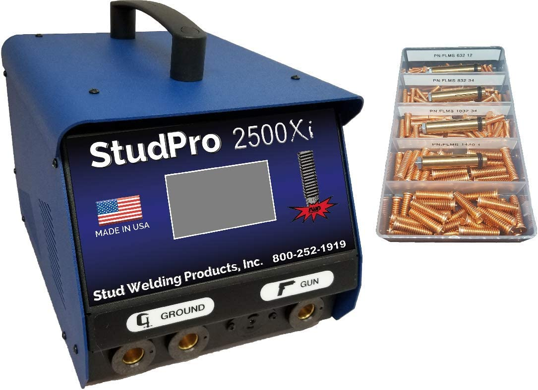 StudPro 2500XI Stud Welder 1 4 Capacitor Discharge Welder