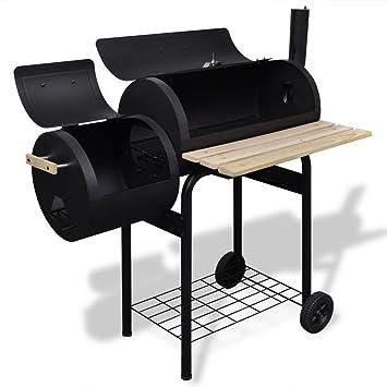 xings huoon Line Barbacoa de carbón clásico Set de brochetas para Barbacoa Barbacoa pincho Giratorio para