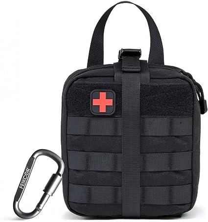 Kleine Medic Molle Tasche Multican Black Tactical First Aid Outdoor IFAK