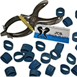 JCS Lobster Claw Bands and Claw Band Tool Kit. 1 LB Bag (About 500 PCS.)