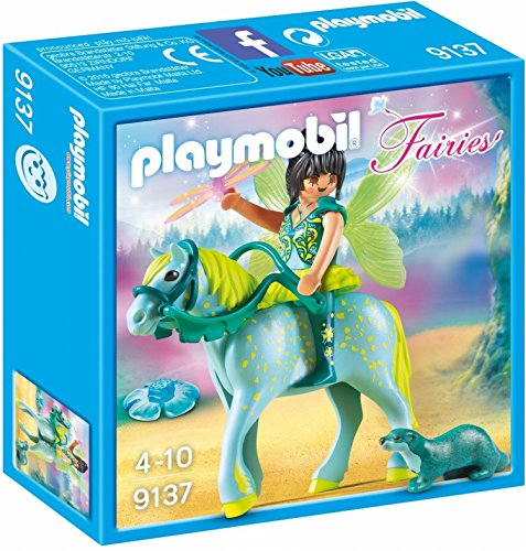 PLAYMOBIL® Enchanted Fairy with Horse Toy, -