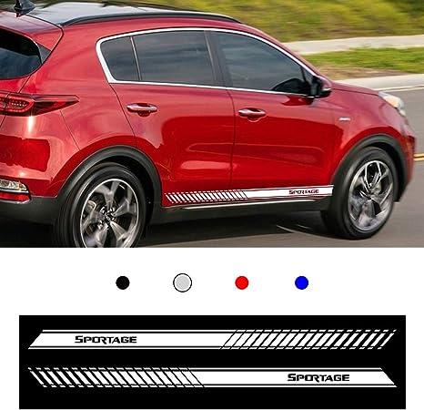 Pair Sport Racing car truck Vinyl Decal sticker emblem Logo RED