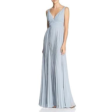 e21e67c91 Amazon.com: Laundry by Shelli Segal Womens Pleated Chiffon Open Back ...