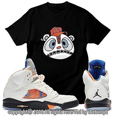 330e88226a732c Amazon.com  Custom T Shirt Matching Air Jordan 5 Orange Peel JD 5-1-11-6   Clothing