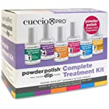 Cuccio Powder Polish Nail Colour Dip System Complete Treatment Kit