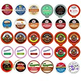 Flavored Coffee,Tea, Cider, Cappuccino and Hot Cocoa, Single Serve Cups For Keurig K Cup Brewers Variety Pack Sampler