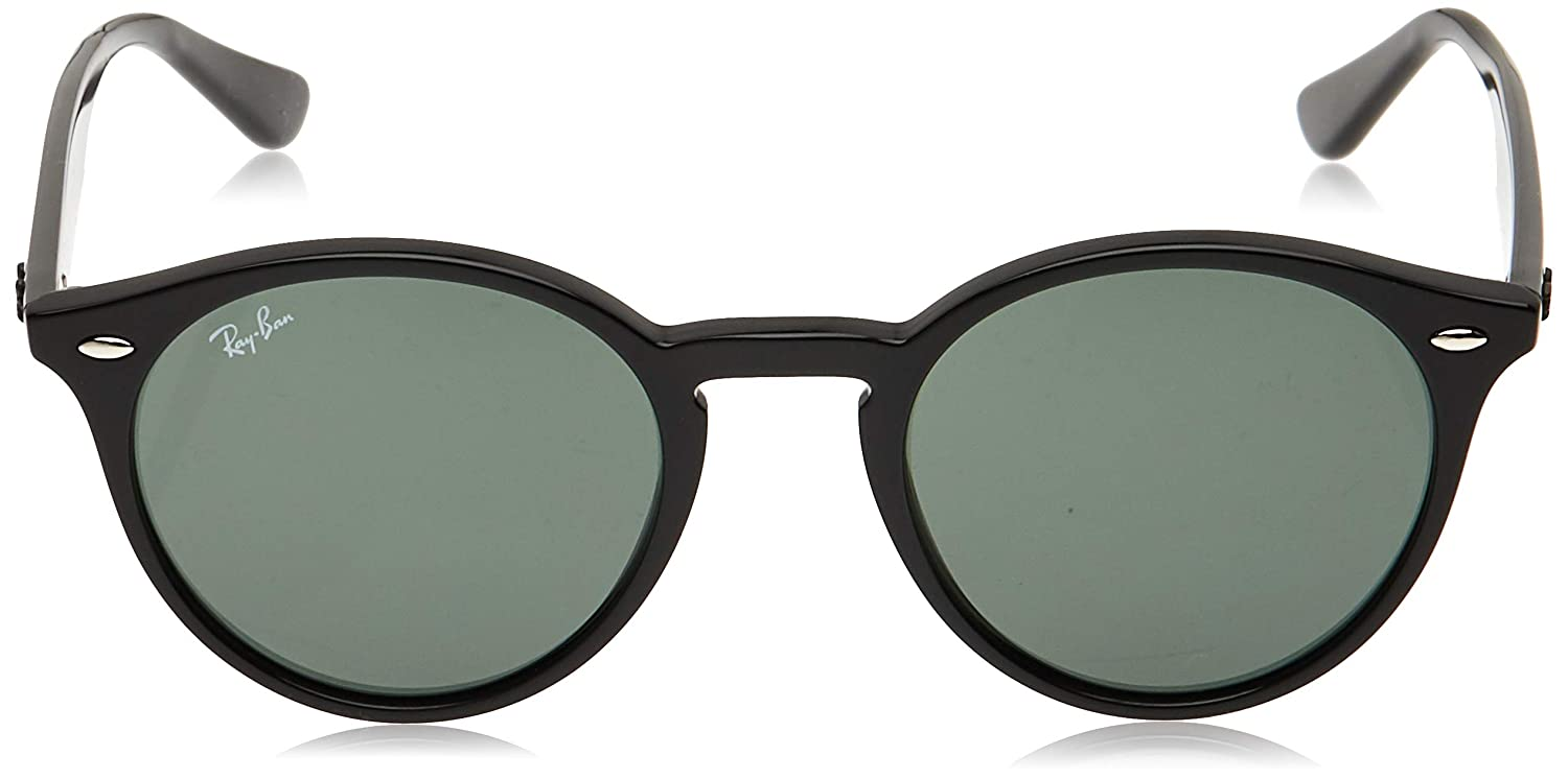 Amazon.com: Ray-Ban RB2180 - Gafas de sol redondas (1.929 in ...