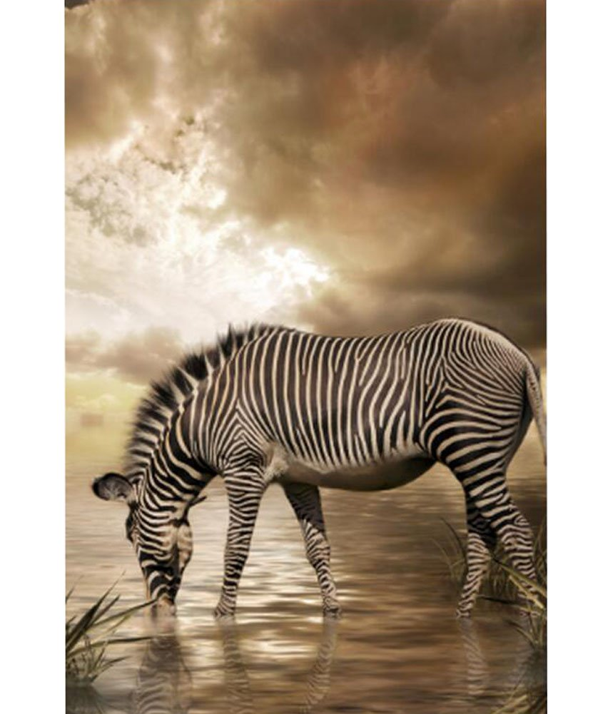 Ideal para Rompecabezas Family Game Night 1000 Piece - Zebra
