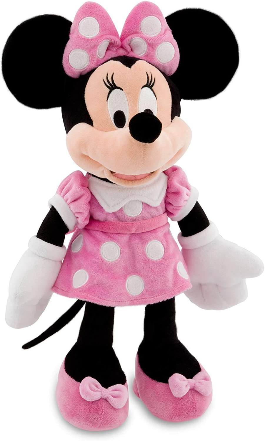 Amazon Com Disney 16 Minnie Mouse In Pink Dress Plush Doll Toys