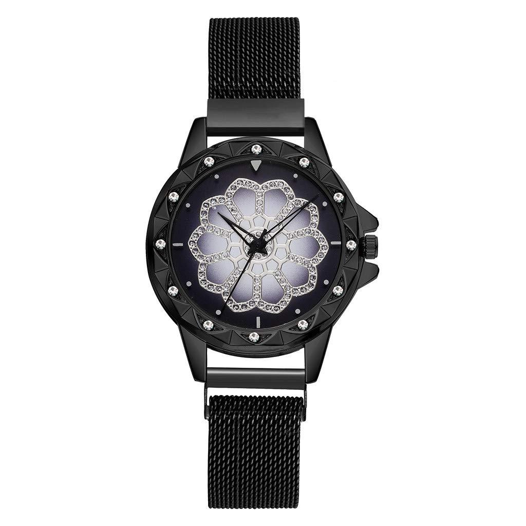 Longra⏱ Reloj ⏰de Dama! Reloj de Pulsera analógico para Mujer ...
